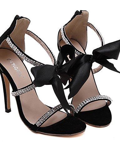 GGX/ Damenschuhe-High Heels-Lässig-PU-Stöckelabsatz-Absätze-Schwarz black-us6.5-7 / eu37 / uk4.5-5 / cn37