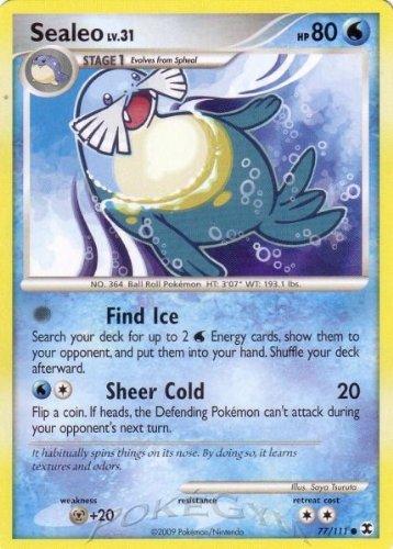Pokemon Platinum Rising Rivals Single Card Sealeo #77 Common [Toy]