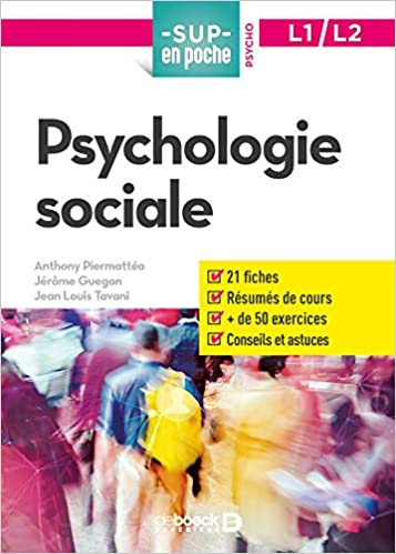 Amazon Fr Psychologie Sociale Anthony Piermatteo Jerome