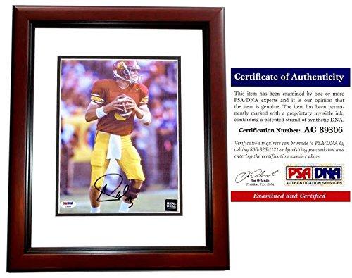 Carson Palmer Autographed Signed USC Trojans 8x10 Photo Mahogany Custom Frame - PSA/DNA Authentic