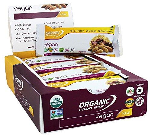 Organic Food Bar - Vegan - 12 Bars