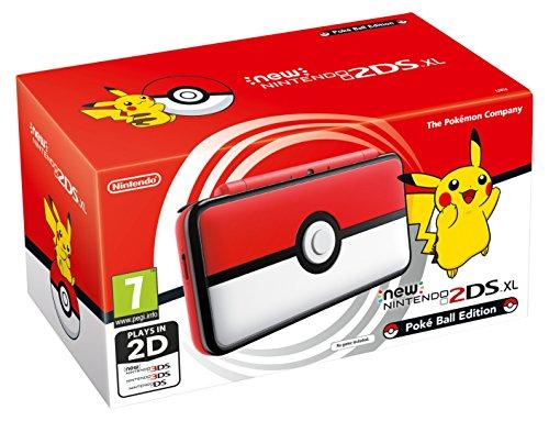 Nintendo Handheld Console, New Nintendo 2DS XL, Poké Ball Edition (Nintendo 3DS)