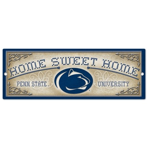 (Wincraft NCAA Penn State University Wood Sign, 6