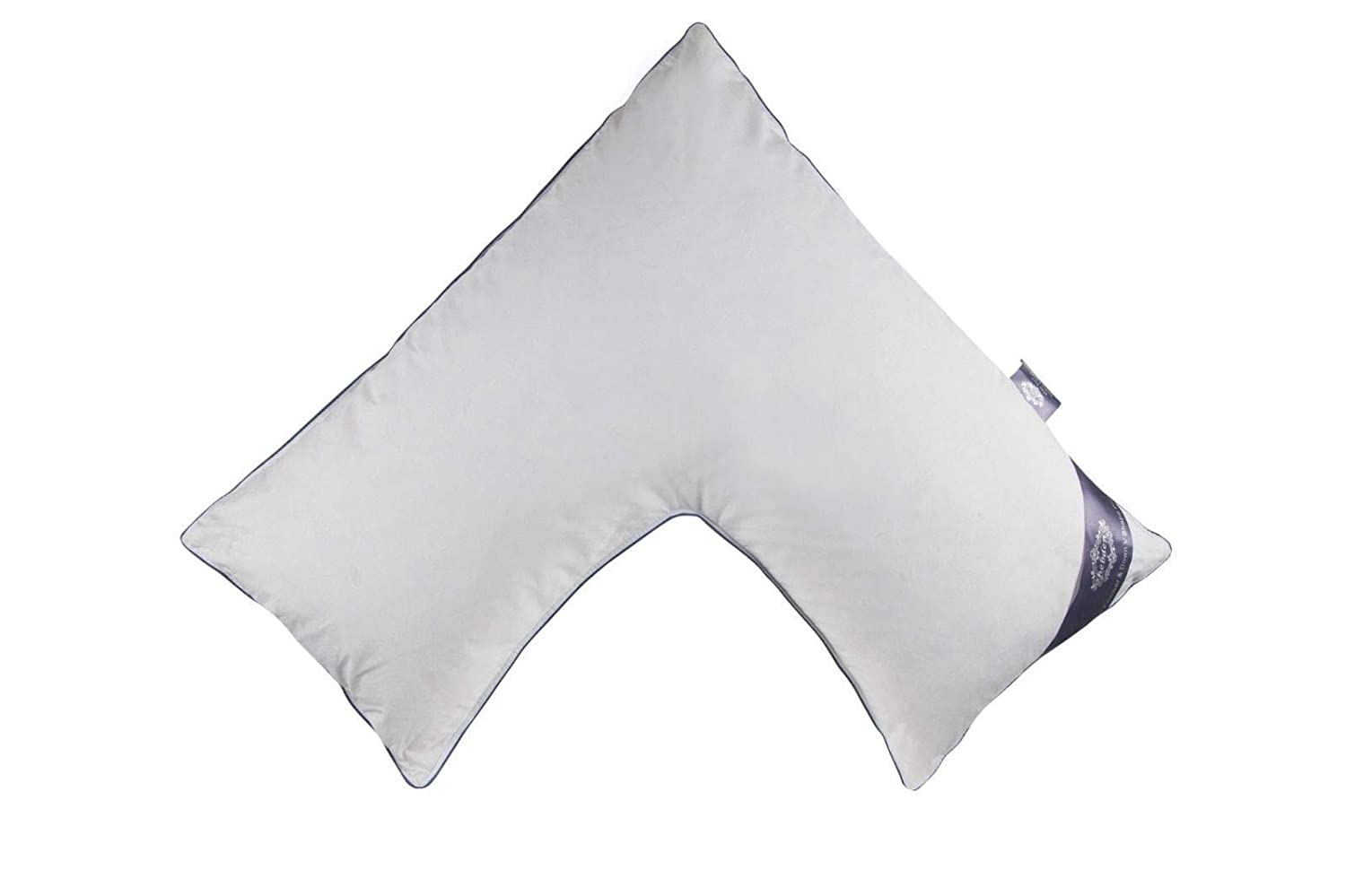 VitalChoice/® Duck Feather /& Down V Shaped Pillow Only Nursing Pregnancy Back Support Pillow 85/% Duck Feather 15/% Duck Down 233 Thread Count Percale 83cm x 45cm x38cm Approx