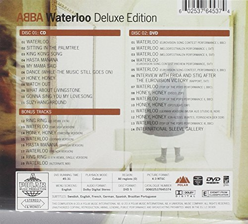 Original album cover of Waterloo: Deluxe Edition by ABBA