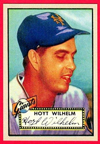 1952 Topps Reprint - Hoyt Wilhelm 1952 Topps Baseball Rookie Reprint Card (Giants)