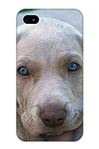 New Cute Funny Animal Weimaraner Case Cover/ Iphone 4/4s Case Cover For Lovers