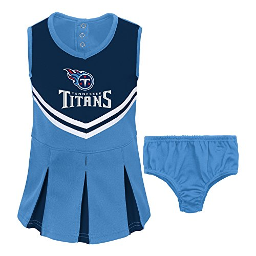 ff8e5625 NFL Tennessee Titans Girl's Toddler Two Piece Cheerleader Outfit