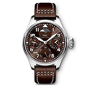 NEW IWC Big Pilots Watch Perpetual Calendar Stainless Steel 46mm Watch IW503801