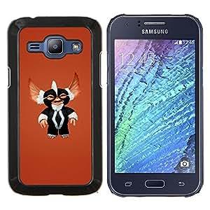 """Be-Star Único Patrón Plástico Duro Fundas Cover Cubre Hard Case Cover Para Samsung Galaxy J1 / J100 ( Película Monstruo lindo Sonrisa Furry Toy Carácter"""" )"""