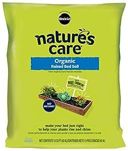 Nature's Care 72259120 Organic Raised Bed Soil