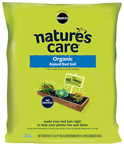 Nature's Care 72259120 Organic Raised Bed Soil by Nature's Care