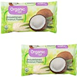 Great Value Organic Unsweetened Coconut Flakes, 7 oz (1)