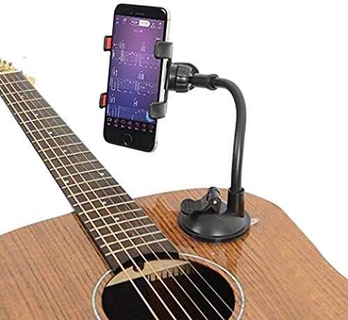 Soporte con Ventosa para Smartphone, Soporte para Guitarra ...