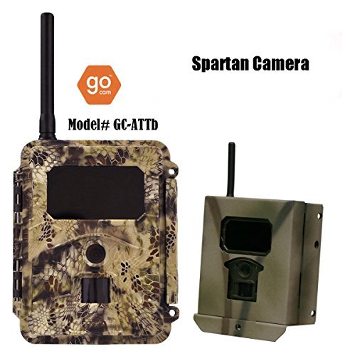 Spartan GoCam AT&T Blackout Flash with Free $40.00 Lockbox included by HCO Outdoor Products