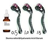 Dermapeel facial care tools sets plus hyaluronic acid serum-A01