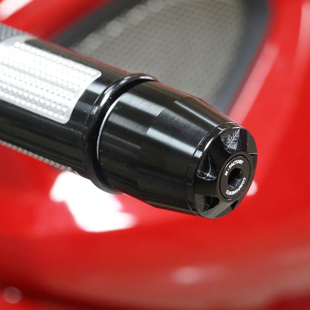 Toka Black CNC Handlebar Bar Ends Sliders Fit Kawasaki ZX 600 Ninja ZX6 94-03 ZZR600 ZZR1200 ZZR1100 ZX-9R