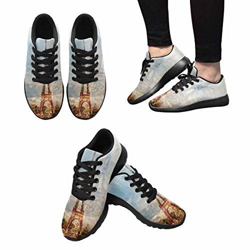InterestPrint Womens Jogging Running Sneaker Lightweight Go Easy Walking Comfort Sports Running Shoes Multi 8 5JsBdqdR