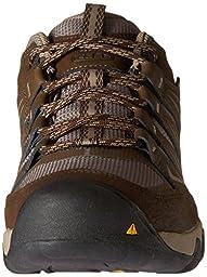 KEEN Men\'s Oakridge WP Shoe, Cascade/Brindle, 13 M US