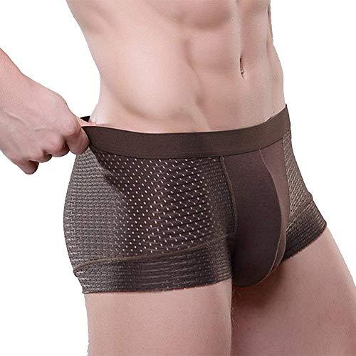 Pantaloncini E Comodo Sheer Confortevole Laisla Underpant Openwork Warming Da Fashion Traspirante Ragazzi Classiche Colored Panty Uomo P58y5pAq