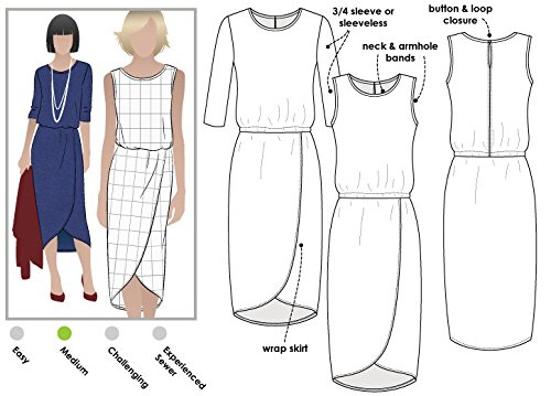 (Style Arc Sewing Pattern - Cameron Dress (Sizes 04-16) - Click for Other Sizes Available)