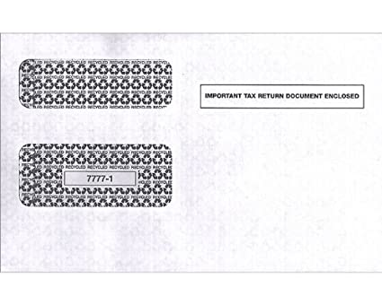Amazon Egp Irs Approved 1099 Tax Form Envelope 4 Packs 100