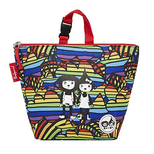 Ice Rainbow Zip Children's Lunch cm Multi Pack Tote Rainbow amp; Zoe Backpack with 25 1S1RTqBgn