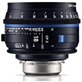 Zeiss 18mm T2.9 CP.3 Compact Prime Cine Lens (Feet) with PL Bayonet Mount
