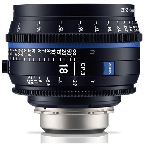 Zeiss 18 mm t2.9 CP。3コンパクトPrime Cineレンズ(フィート) with PLバヨネットマウント   B07BFGWWLL