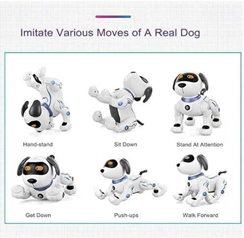 YSSWJ Ysswjzz Kindergeschenk, Ferngesteuerter Spielzeugroboterhund, Elektrischer Intelligenter Elektronischer Hund Der Intelligenten Kinderstimme