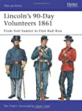 Lincoln's 90-Day Volunteers 1861, Ron Field, 178096918X