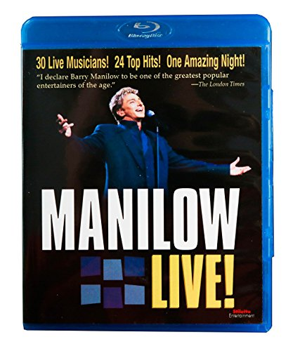 Barry Manilow: Manilow Live! [Blu-ray]