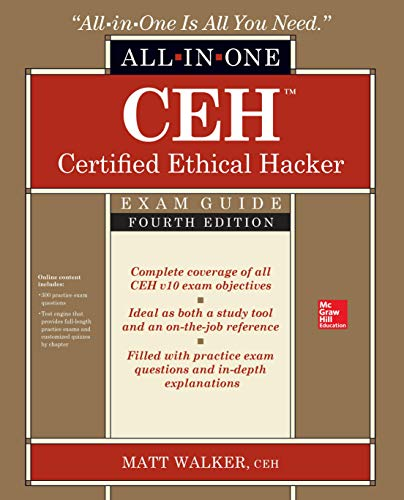 CEH Certified Ethical Hacker All-in-One Exam Guide, Fourth Edition [Walker, Matt] (Tapa Blanda)
