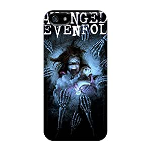 Best Cell-phone Hard Covers For Iphone 5/5s (Mun4909holf) Support Personal Customs Colorful Avenged Sevenfold Series