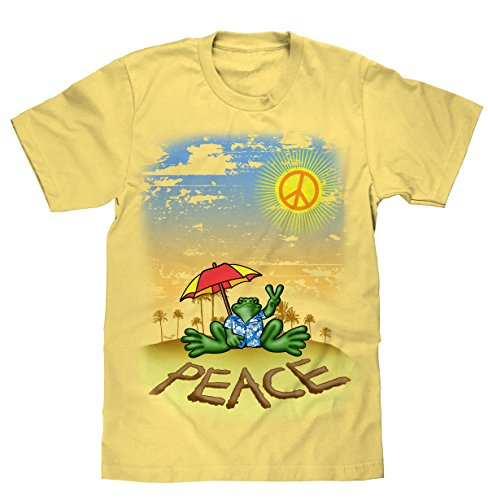 peace-frogs-peace-beach-licensed-t-shirt-x-large
