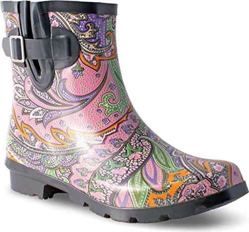 Droplet Paisley Rain Women's Boot Nomad Pastel vFRnUx