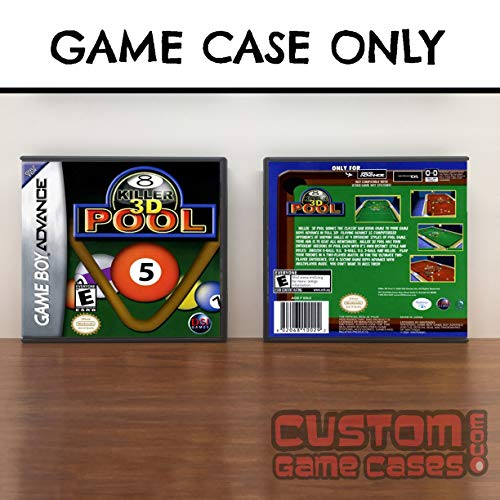 Gameboy Advance Killer 3D Pool - Case