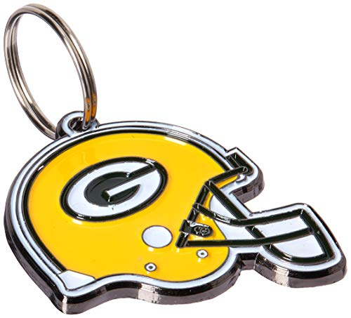 NFL Dog TAG - Green Bay Packers Smart Pet Tracking Tag. - Best Retrieval System for Dogs, Cats or Army Tag. Any Object You'd Like to Protect