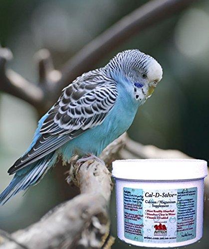 Zoo Med Avian Calcium - Avitech Cal-D-Solve Calcium/magnesium Supplement 4oz