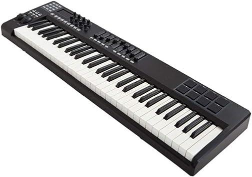 Controlador De Teclado MIDI Compacto De 61 Teclas Alimentado ...