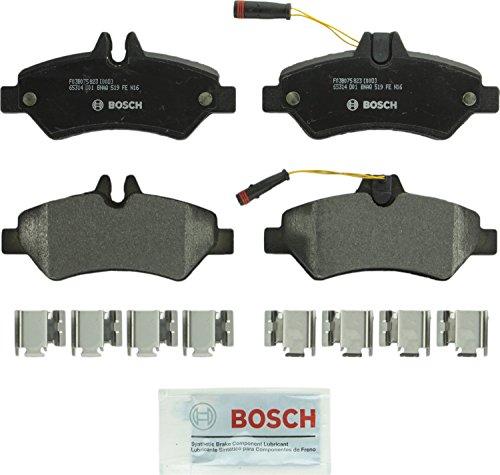 Price comparison product image Bosch BP1317 QuietCast Premium Semi-Metallic Rear Disc Brake Pad Set