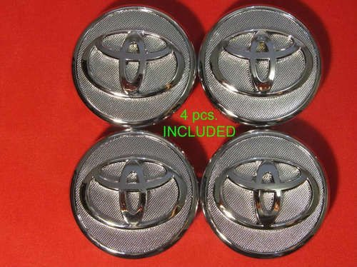 4pcs. WHEEL CENTER CAPS FITS: 07-11 Prius 09-12 Corolla 07-11 Yaris Replacement 42603-52110