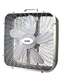 Best Optimus Energy Saving Heaters - Optimus F-2002 20-Inch 3-Speed Box Fan, white Review