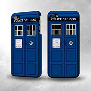 Apple iPhone 4 / 4S Case - The Best 3D Full Wrap iPhone Case - Doctor Who Tardis