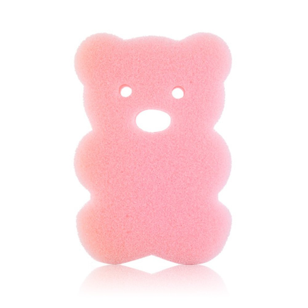 ajzdnzvr 1PC Soft Infant Bath Sponge Baby Shower Care Sponge Soft on Baby's Tender Skin
