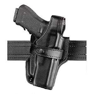 Safariland 070BL Mid-Ride Classic Belt Loop Adapter - Right / Plain Black - 070BL-373-161 - Beretta 92 Brigadier, Brigadier D, Brigadier FS