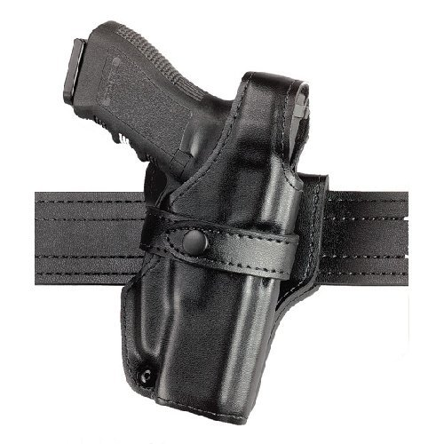 Safariland 070 Level III Retention Duty Holster, Mid-Ride, Black, Basketweave Right Hand, Sig P229 070-74-181