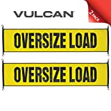 VULCAN Oversize Load Banner with Heavy Duty Metal