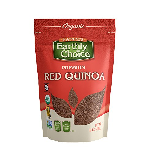 Nature's Earthly Choice Organic Red Quinoa, 6 x 12 Ounce by Nature's Earthly Choice