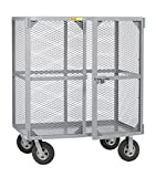 Little Giant SCN-2448-10SR Job Site Security Box, 24'' x 48'', Gray